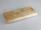 Wooden Oboe Reed Case for 20 reeds - White