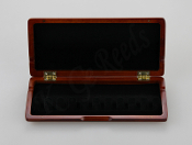 Wooden Bassoon Reed Case for 10 reeds - Red