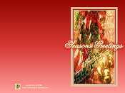 Season's Greeting Card - Oboe