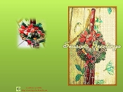 Season's Greeting Card - Bassoon