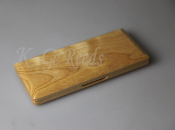 Wooden Bassoon Reed Case for 10 reeds - White