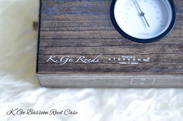 K GE - Humidity Controlled Bassoon Reeds Box made from